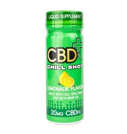 CBD FX Lemonade Chill Shot 2oz