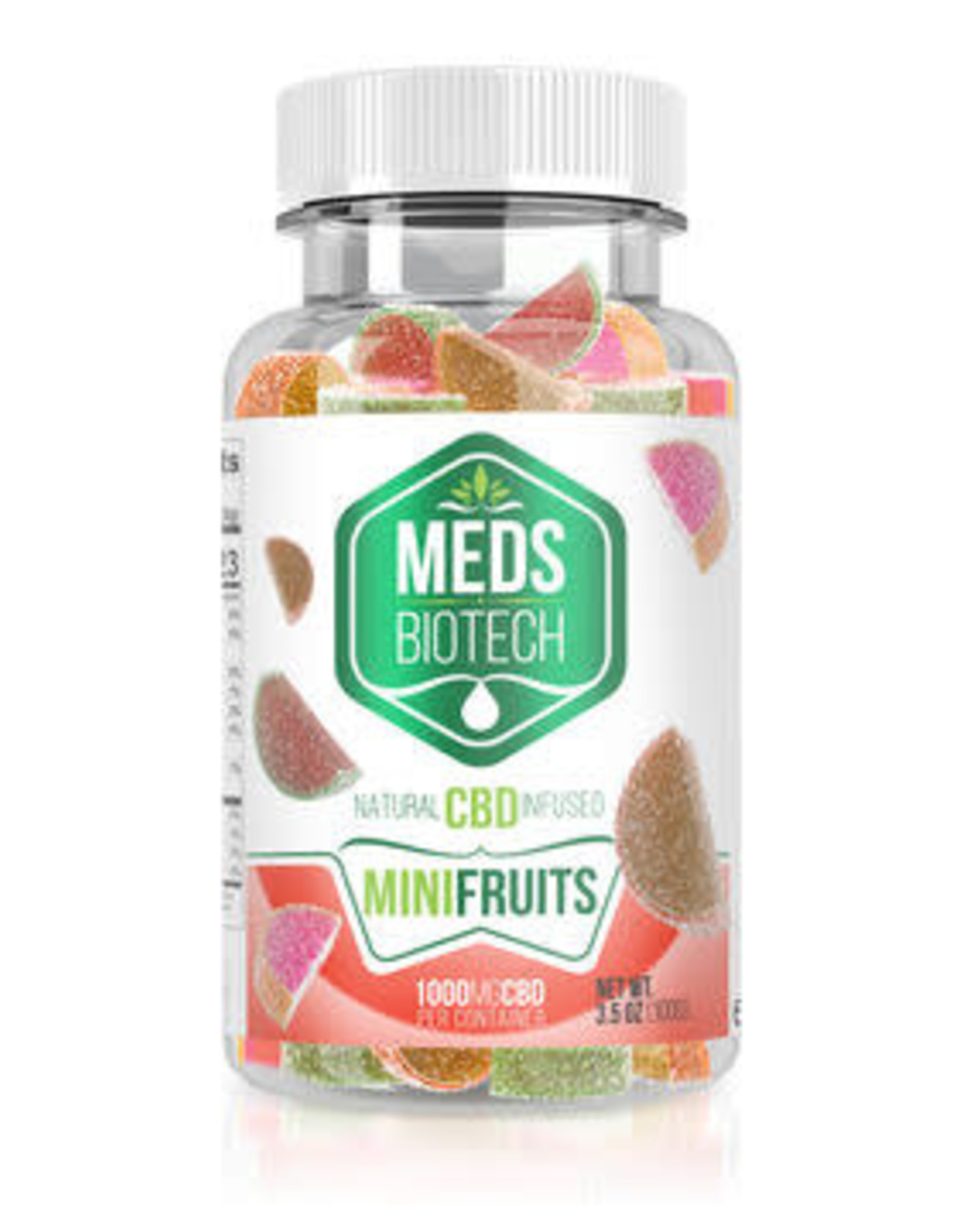 Diamond Meds Biotech Mini Fruit Gummies 1000mg