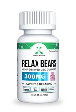 Green Roads CBD Relax Gummy Bears – 300 mg