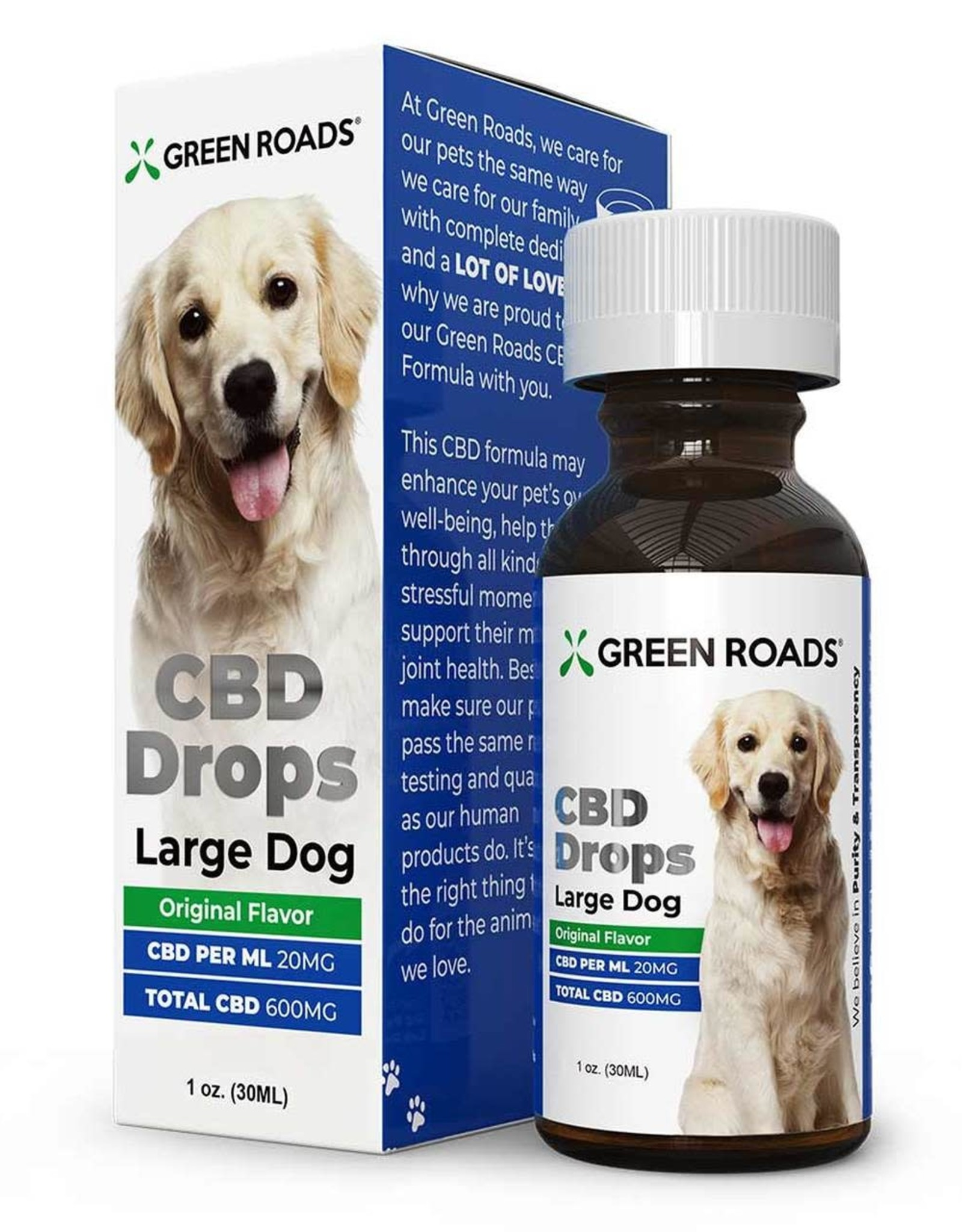 Green Roads CBD Drops for Dogs