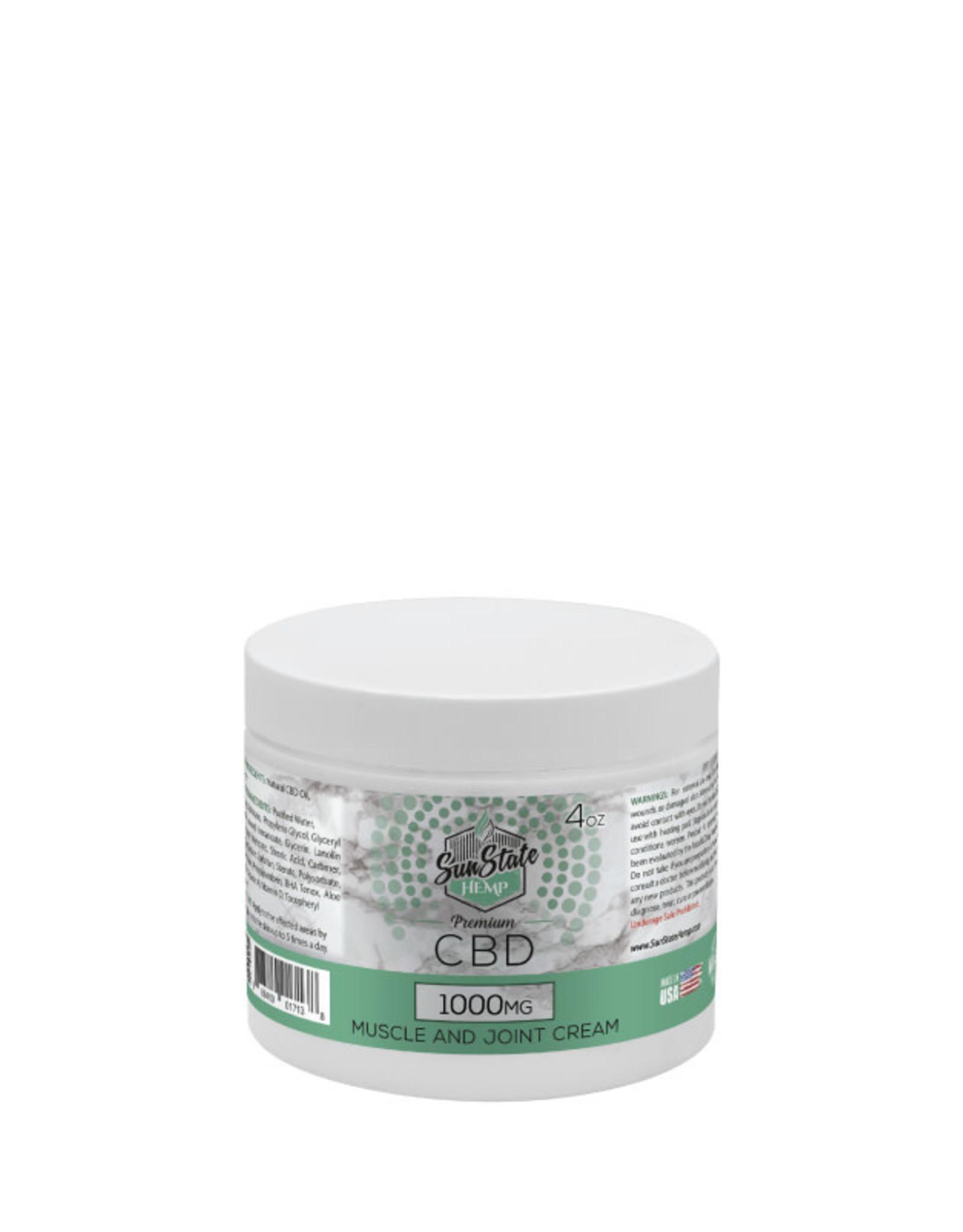 SunState Hemp SunState Pain Cream 1000mg