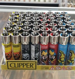 Ooze Wholesale Clipper Zombie Nation Lighter