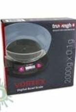 Truweigh Vortex Digital Bowl Scale 2000g Black