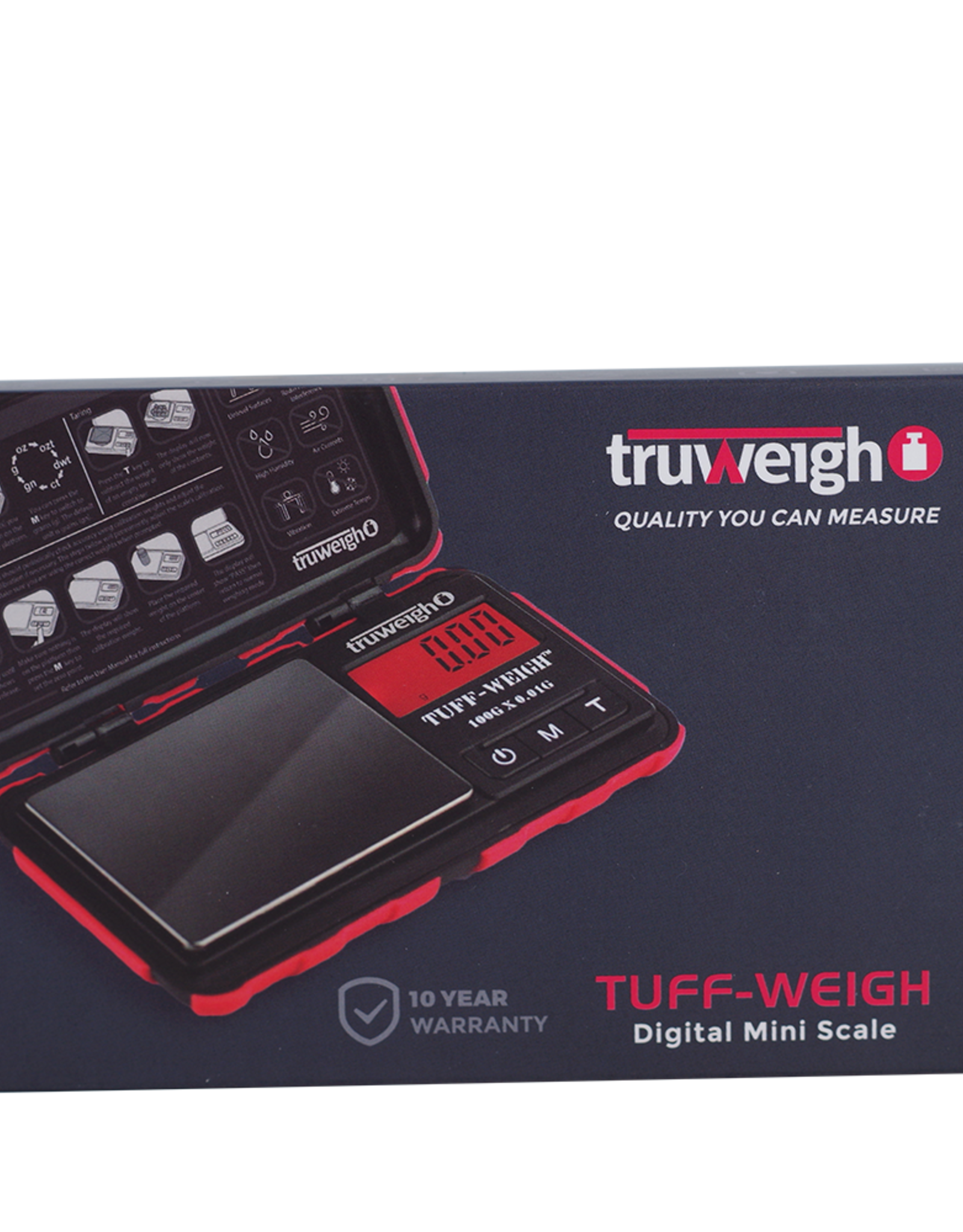 Truweigh Tuff-Weigh Digital Mini Scale 100g