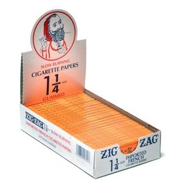 Zig Zag Orange Cigarette Papers Gummed 1 1/4