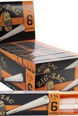 Zig Zag Cones Orange 1 1/4