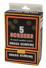 Brass Pipe Screens 5per pack