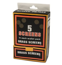 Brass Pipe Screens 5per pack