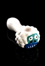 Ceramic abominable Snowmonster Hand Pipe