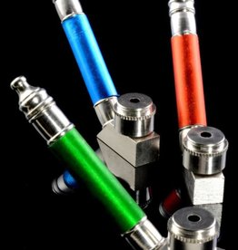 Stand Up Colored Sleeve Metal Pipe with Cap