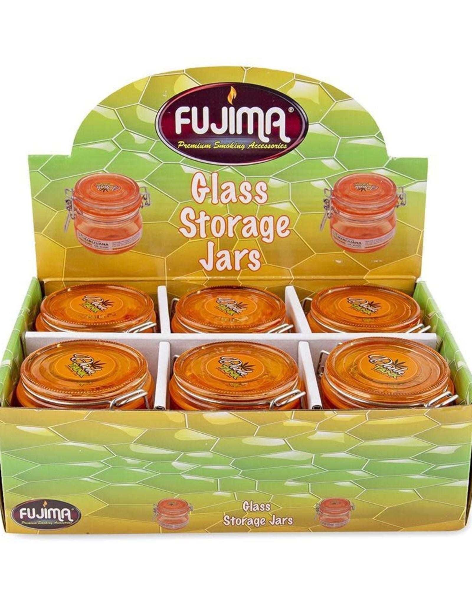 Fujima Dark Tank Storage Jar 150ml