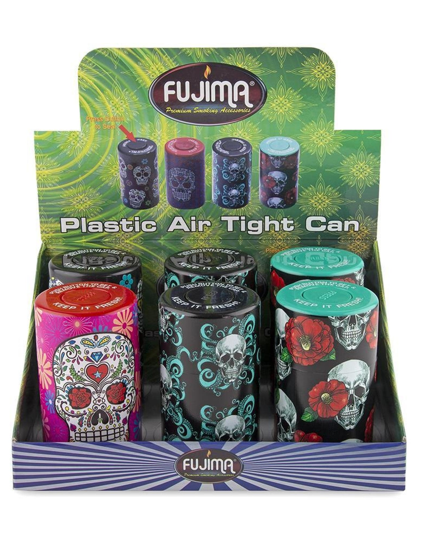 Fujima Plastic Air Tight Can