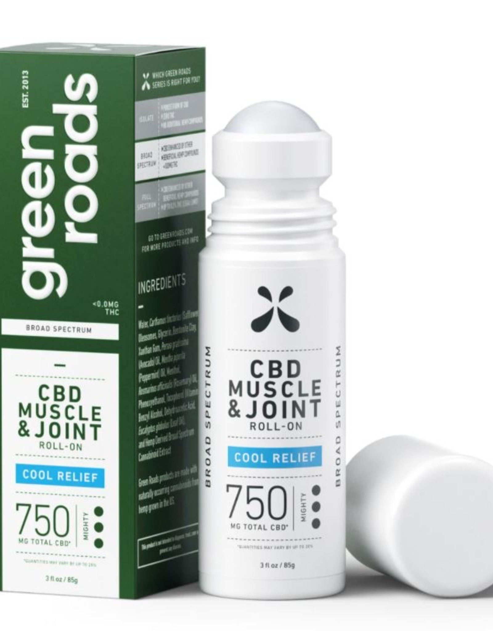 Green Roads Green Roads 750mg Cool Relief Roll-On
