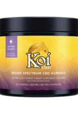 Koi CBD KOI Broad Spectrum Anytime Gummies 600mg
