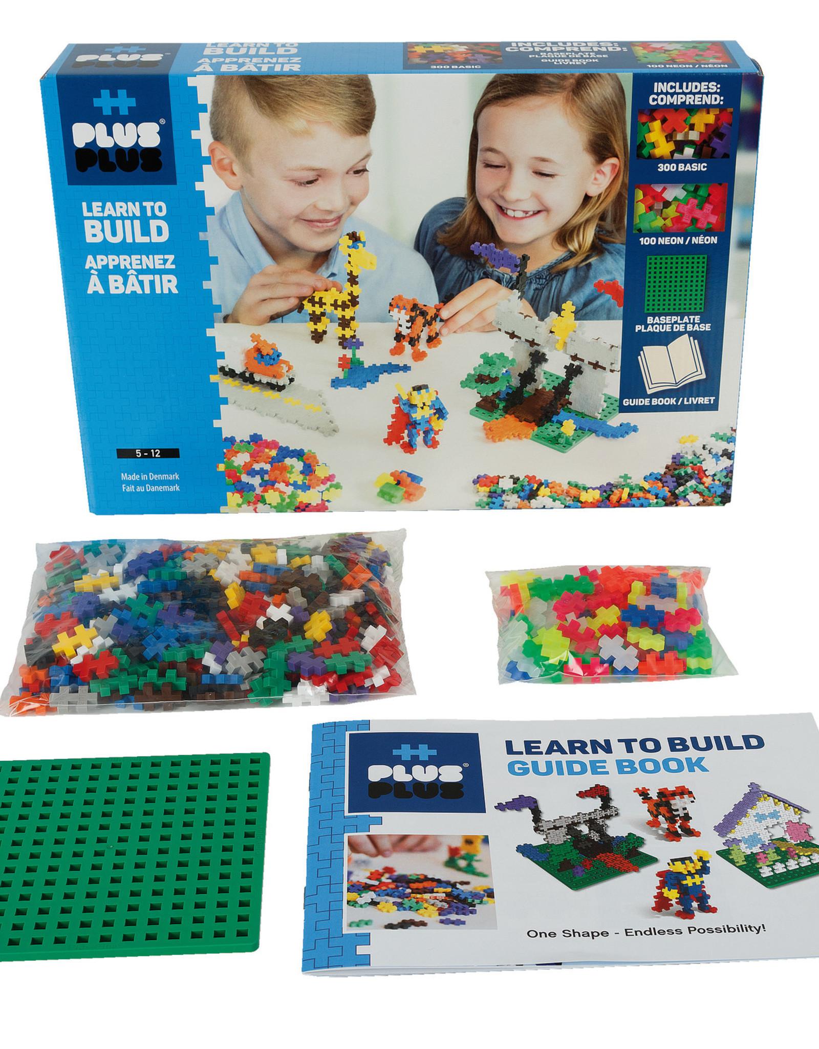 Plus Plus Plus Plus Learn to Build Basic