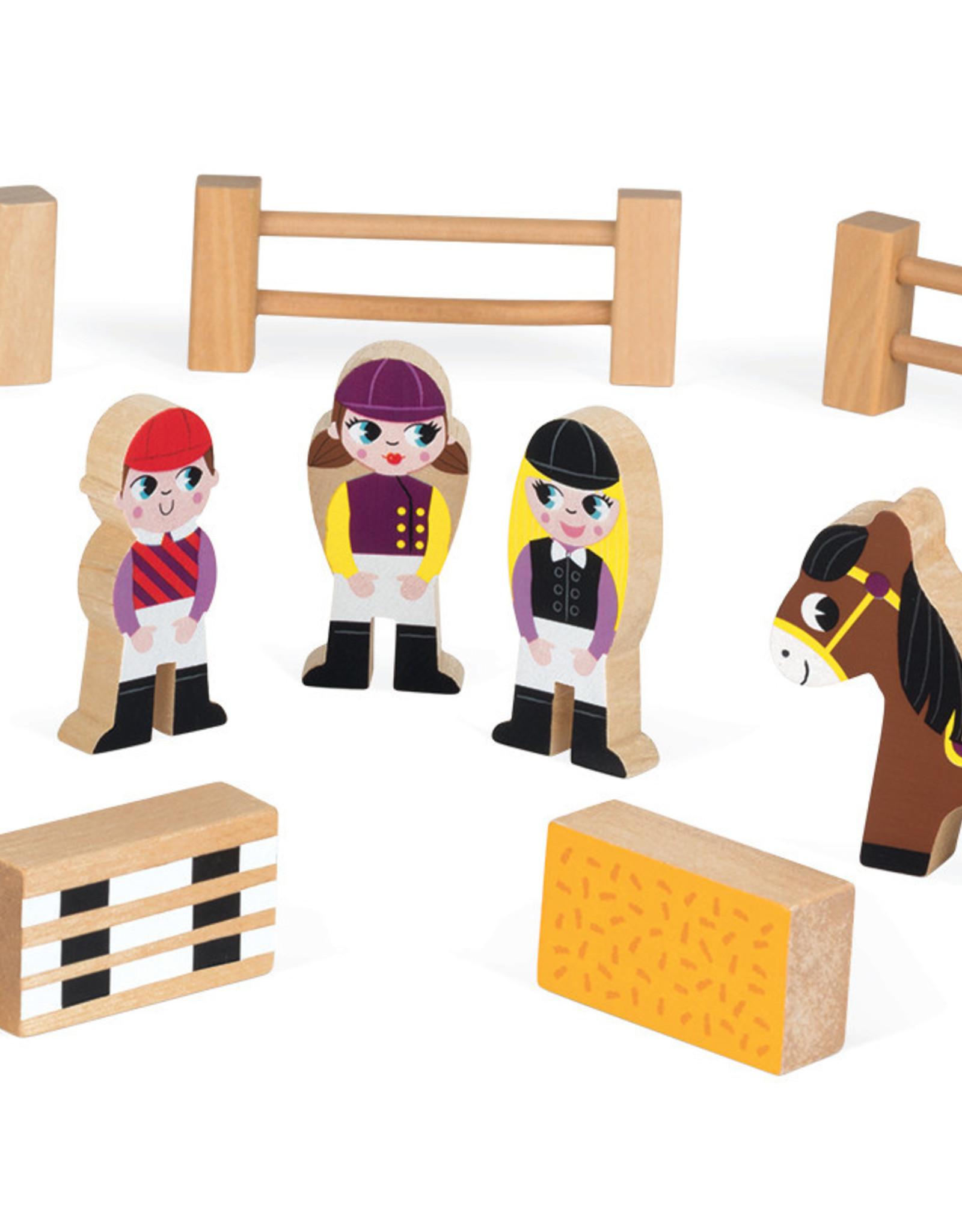 Janod Story Box - Pony Club