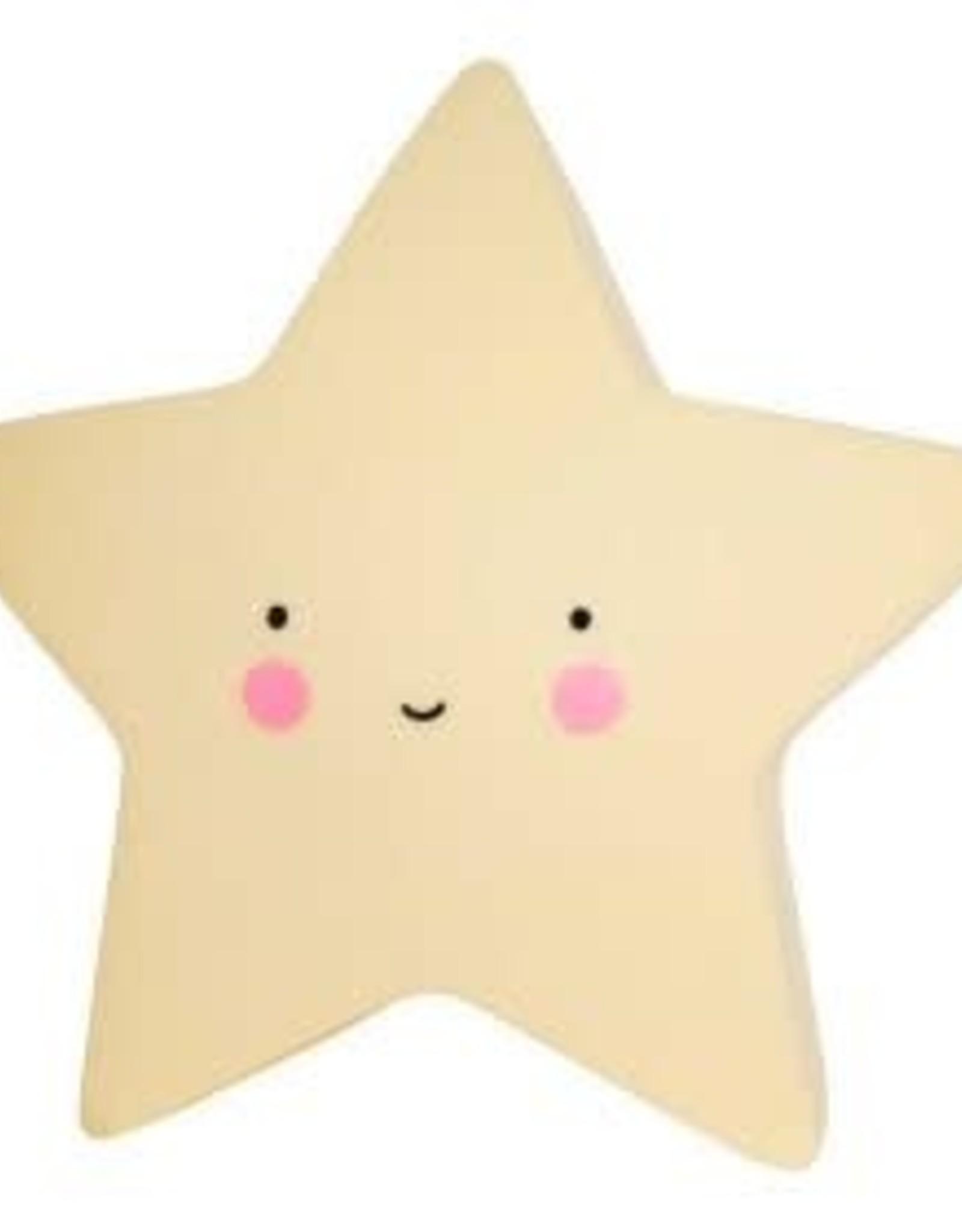 A Little Lovely Company Little Light Star Yellow