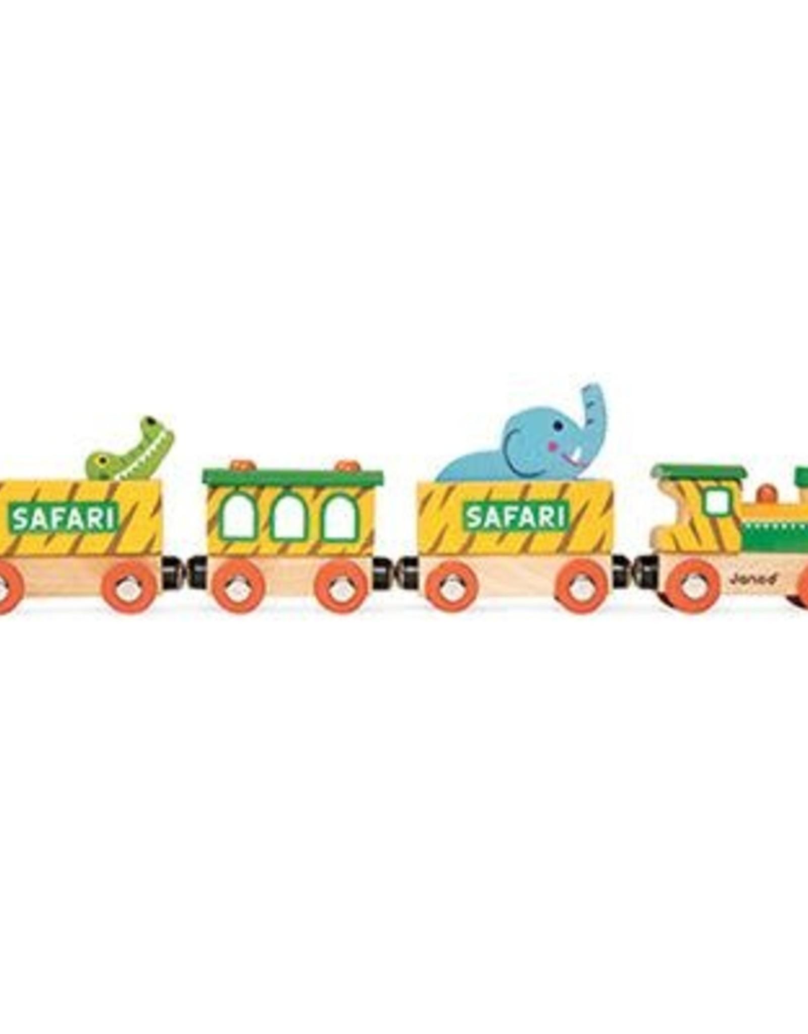 Janod Story Train - Safari