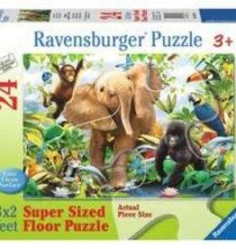 Ravensburger Jungle Juniors 24 Pc Floor Puzzle