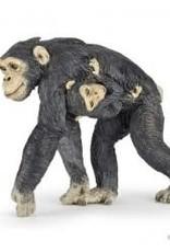 Papo Papo Chimpanzee and Baby