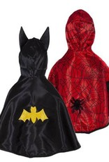 Great Pretenders Reversible Spider/Bat Toddler Cape, Size 2-3T