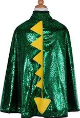Great Pretenders Toddler Dragon Cape, Grn,metallic 2-3T