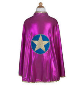 Great Pretenders Wonder Star Cape, Pink, 5-6
