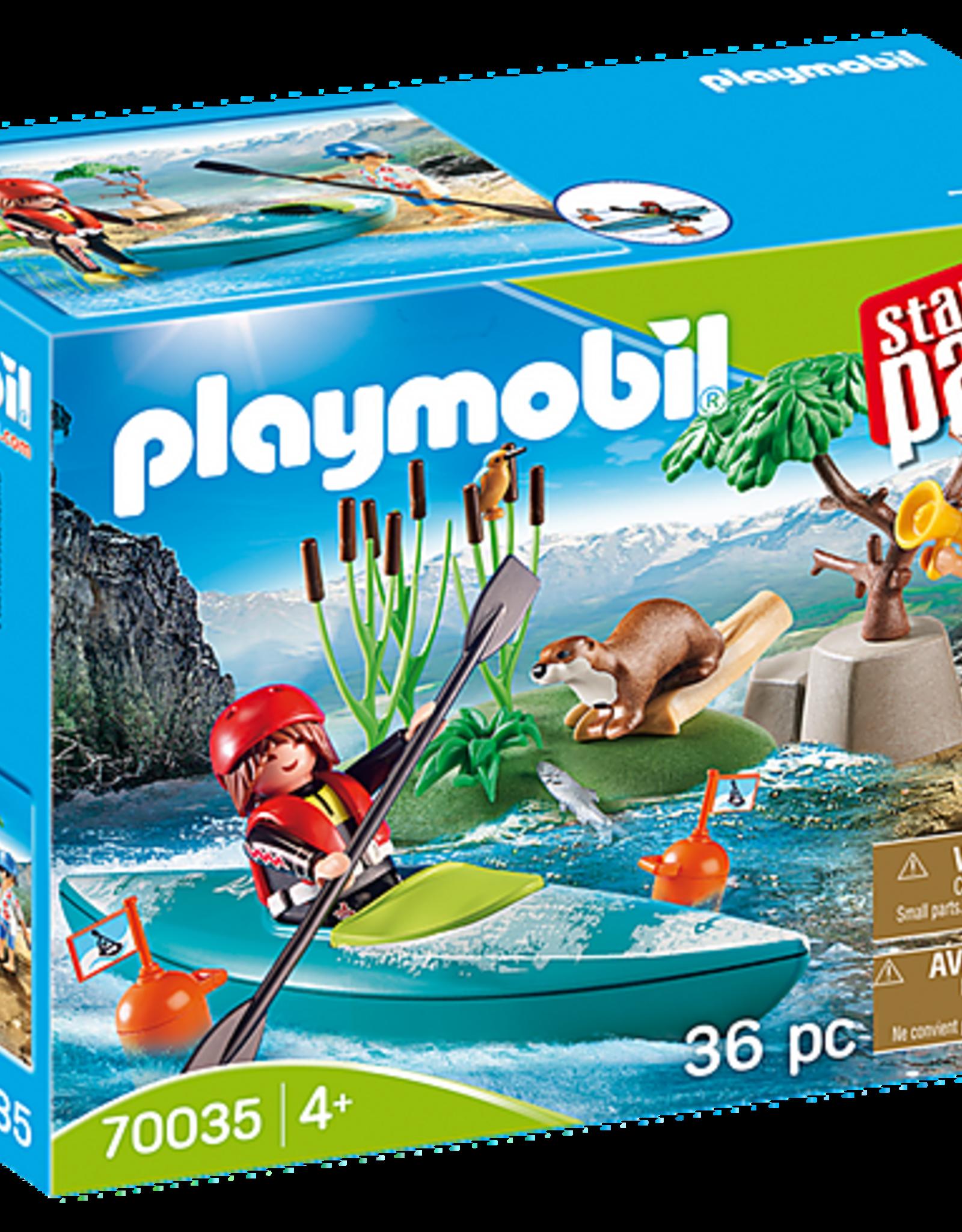 Playmobil StarterPack Kayak Adventure