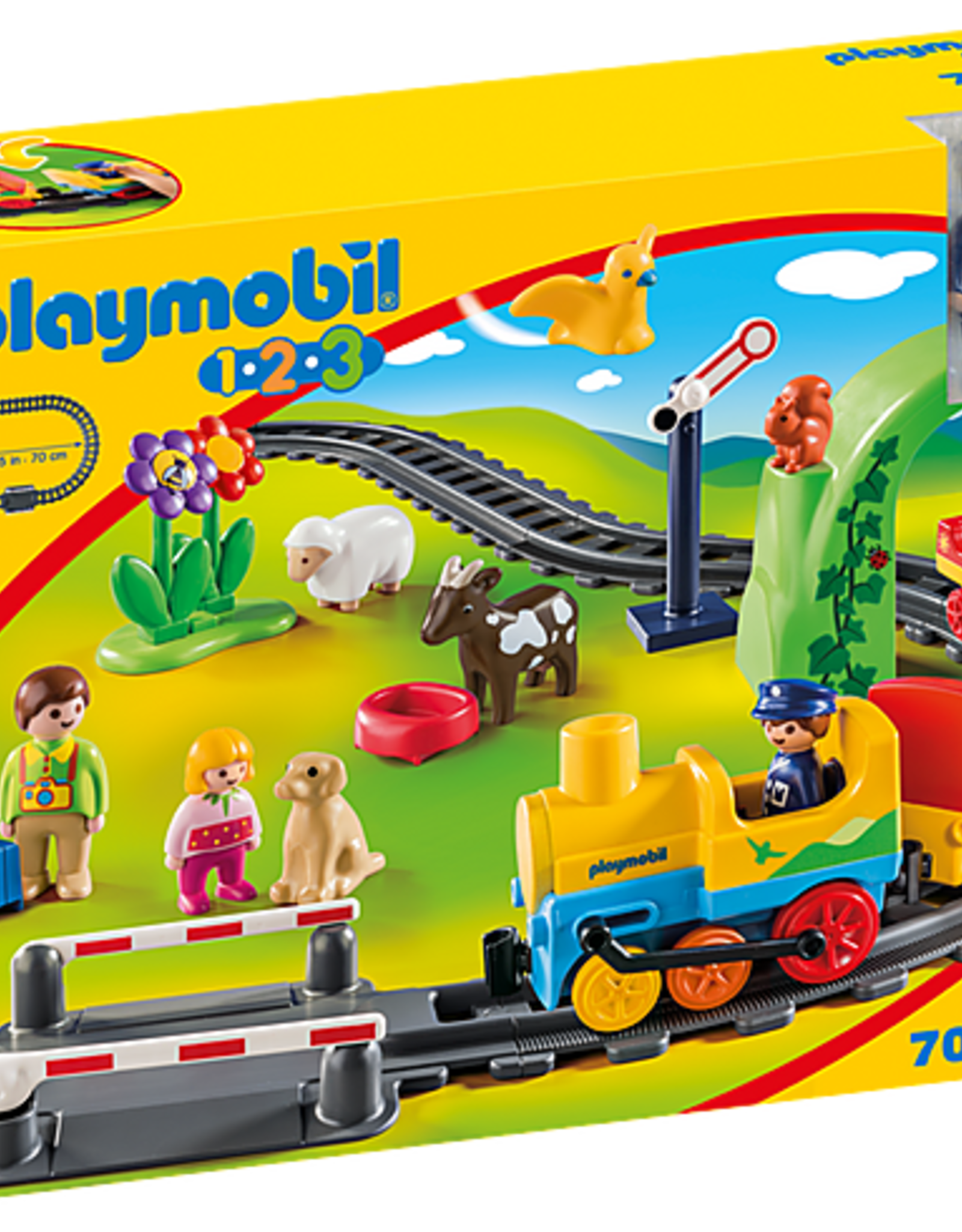 Playmobil 1,2,3 - My First Train Set