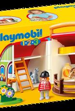 Playmobil 1,2,3 - My Take Along Farm