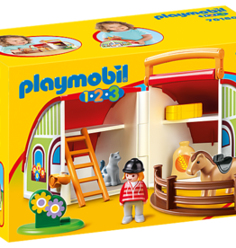 Playmobil 1,2,3 - My Take Along Farm