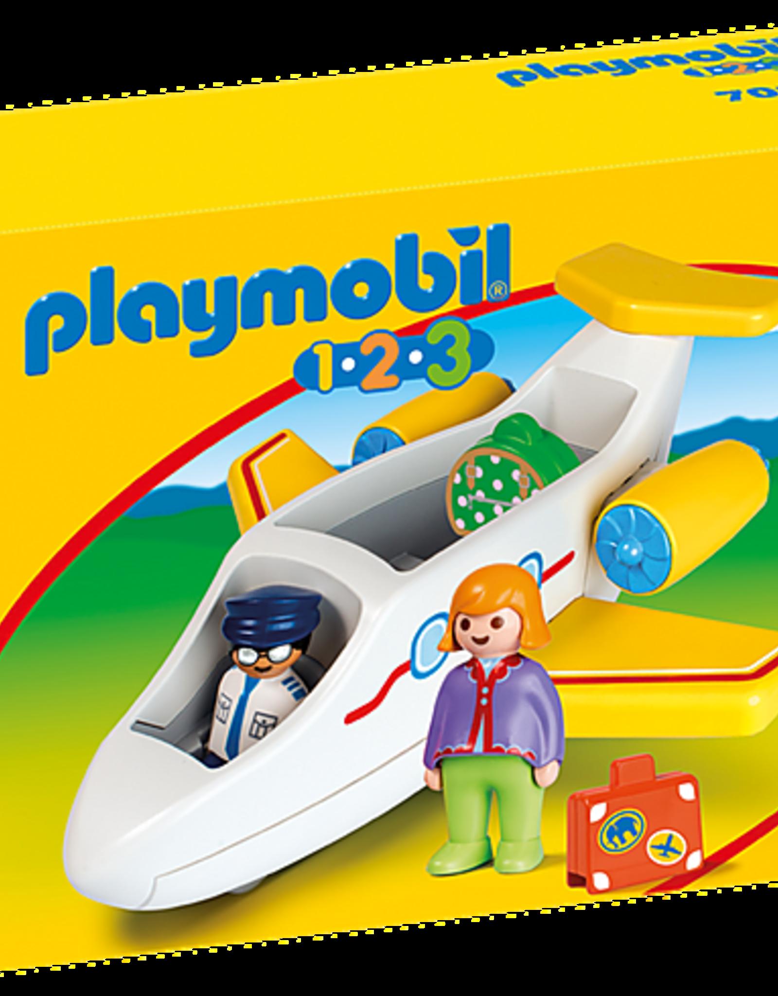 Playmobil 1,2,3 - Plane with Passenger