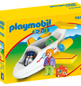 Playmobil 1,2,3 - Plane with Passenger