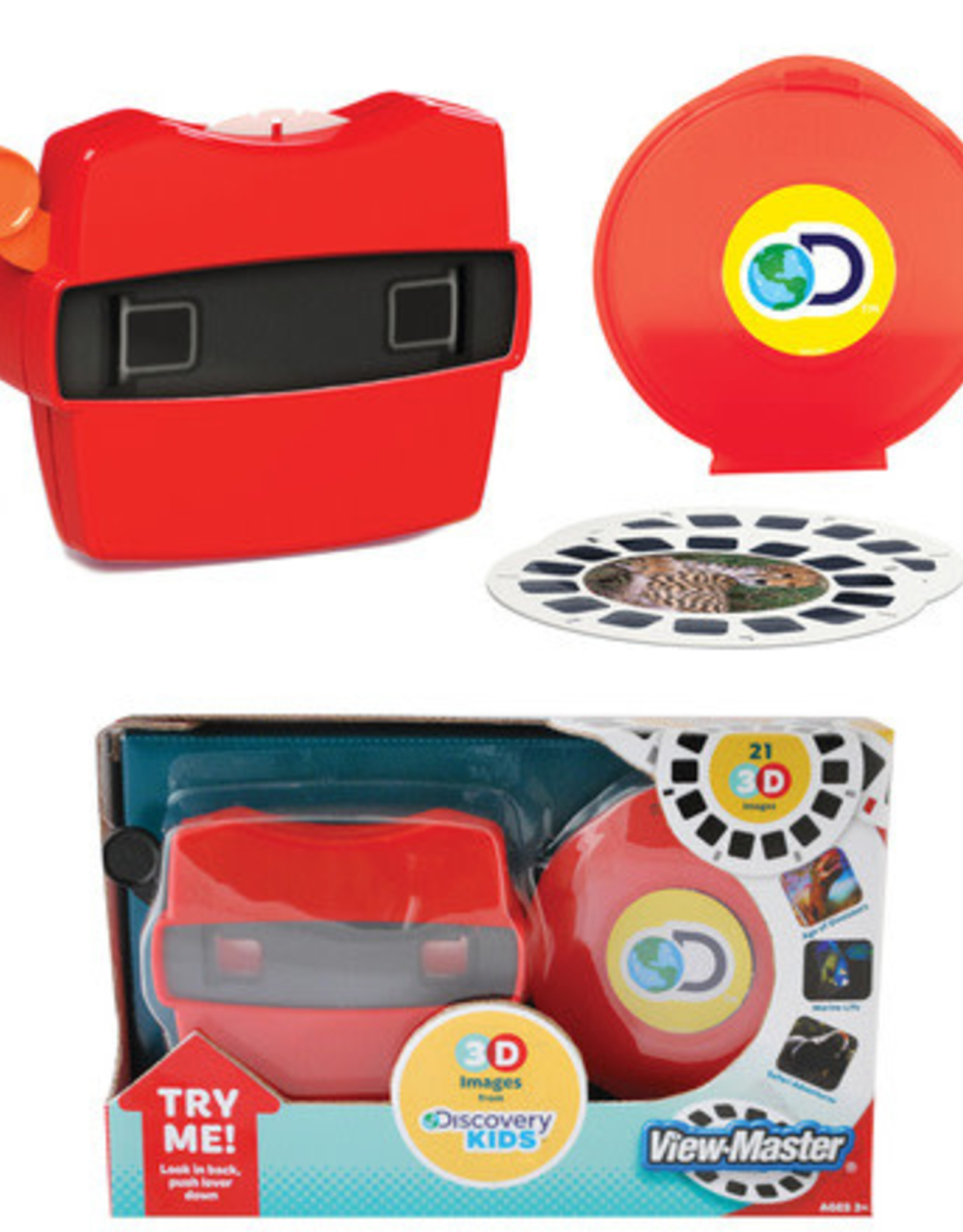Discovery Viewmaster Boxed Set