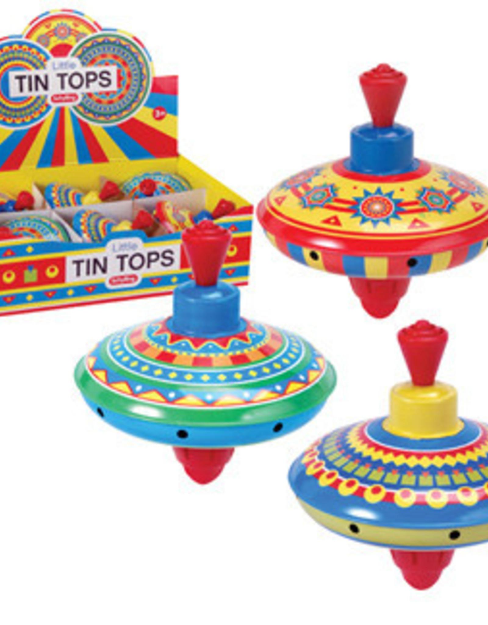 Schylling Little Tin Tops Assorted