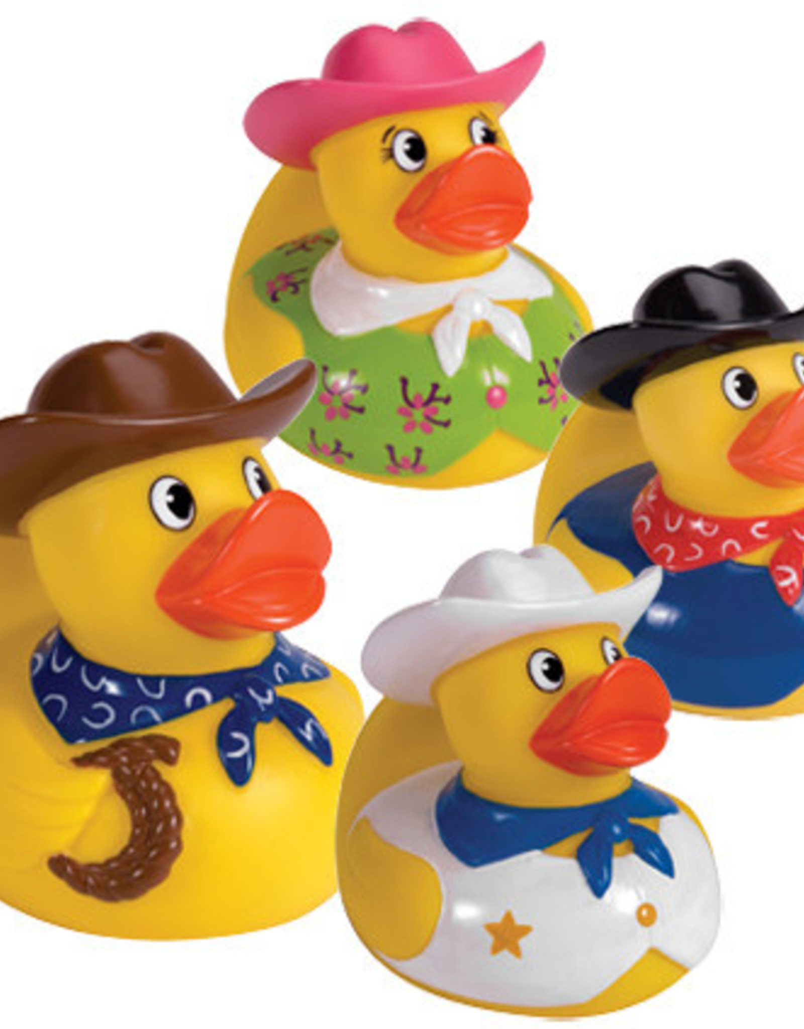 Schylling Rubber Duckies Cowboys