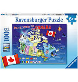 Ravensburger Map of Canada (100 PC)