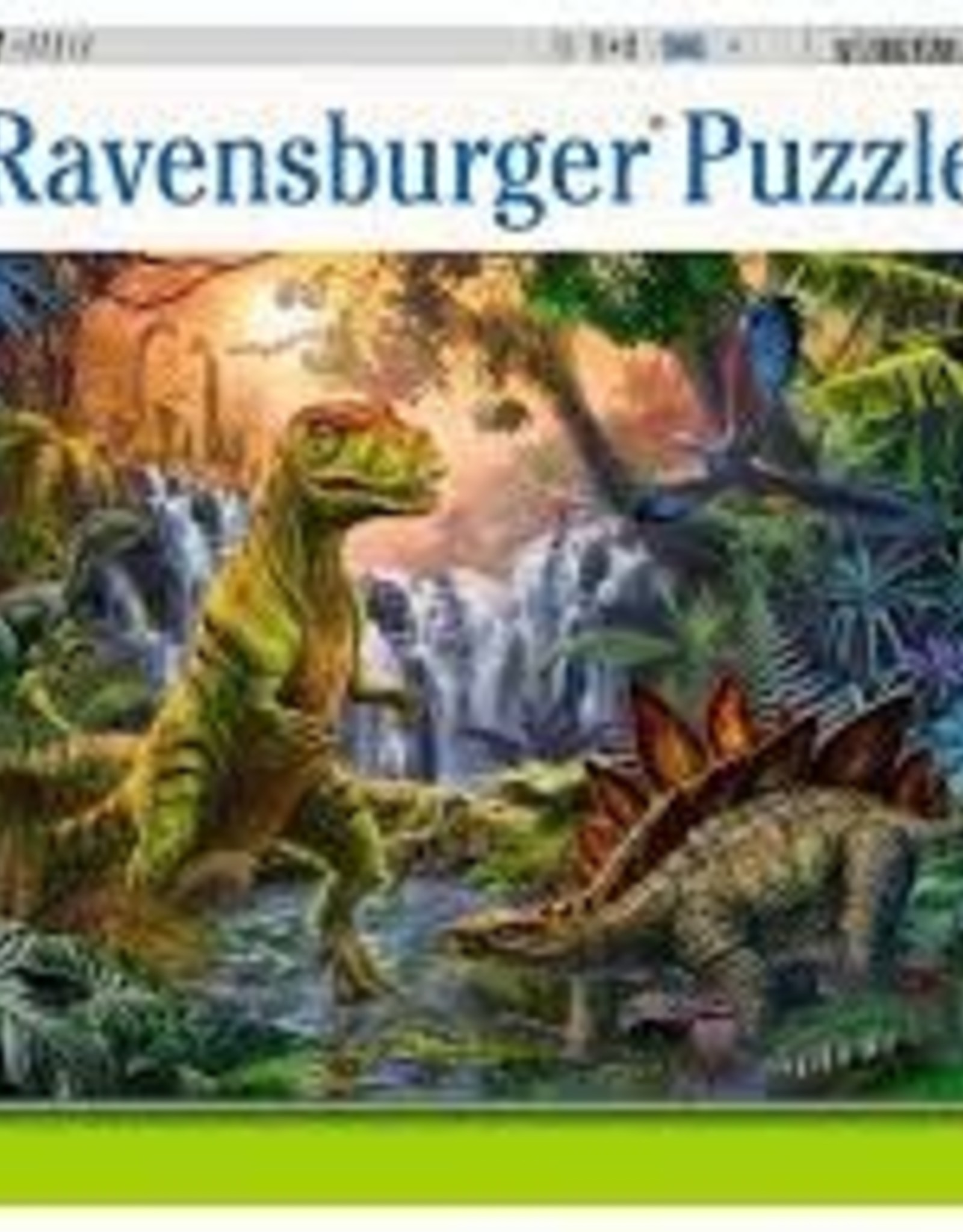 Ravensburger Prehistoric Oasis (100 PC)