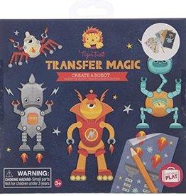 Tiger Tribe Create a Robot Transfer Magic