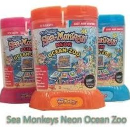 Schylling Sea Monkeys - Ocean Zoo Neon