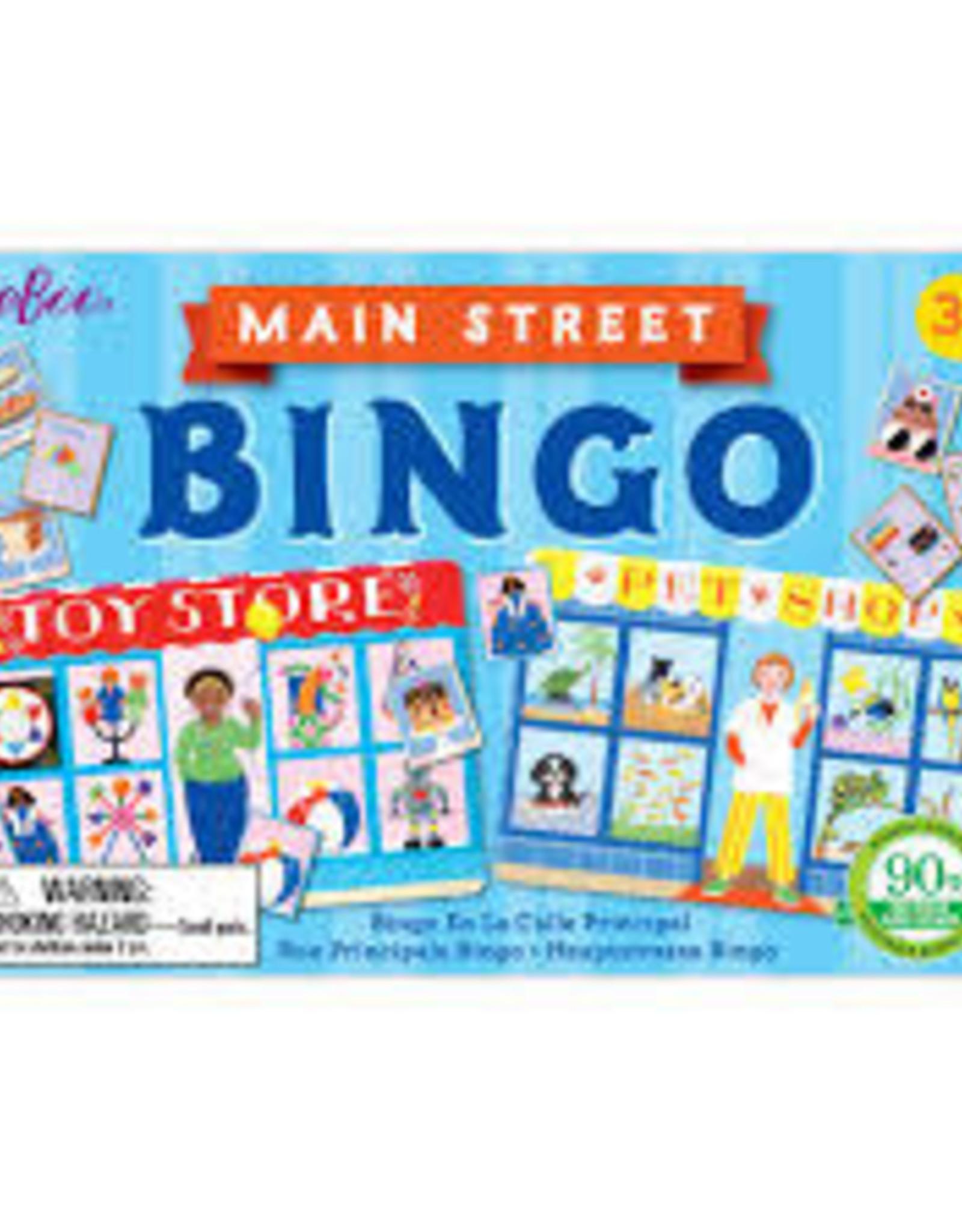 eeBoo Main Street Little Bingo
