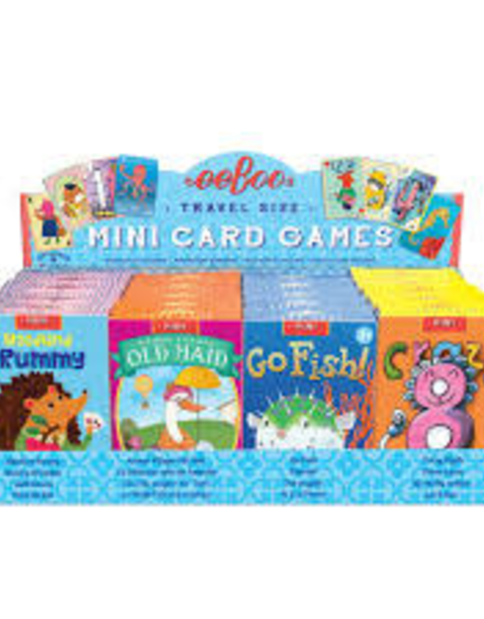 eeBoo Miniature Playing Cards Assortment