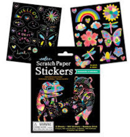 eeBoo Rainbows and Friends Scratch Stickers