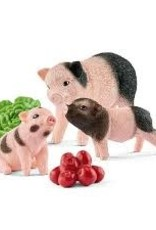 Schleich Schleich - Farm World Miniature Pig Mother & Piglets