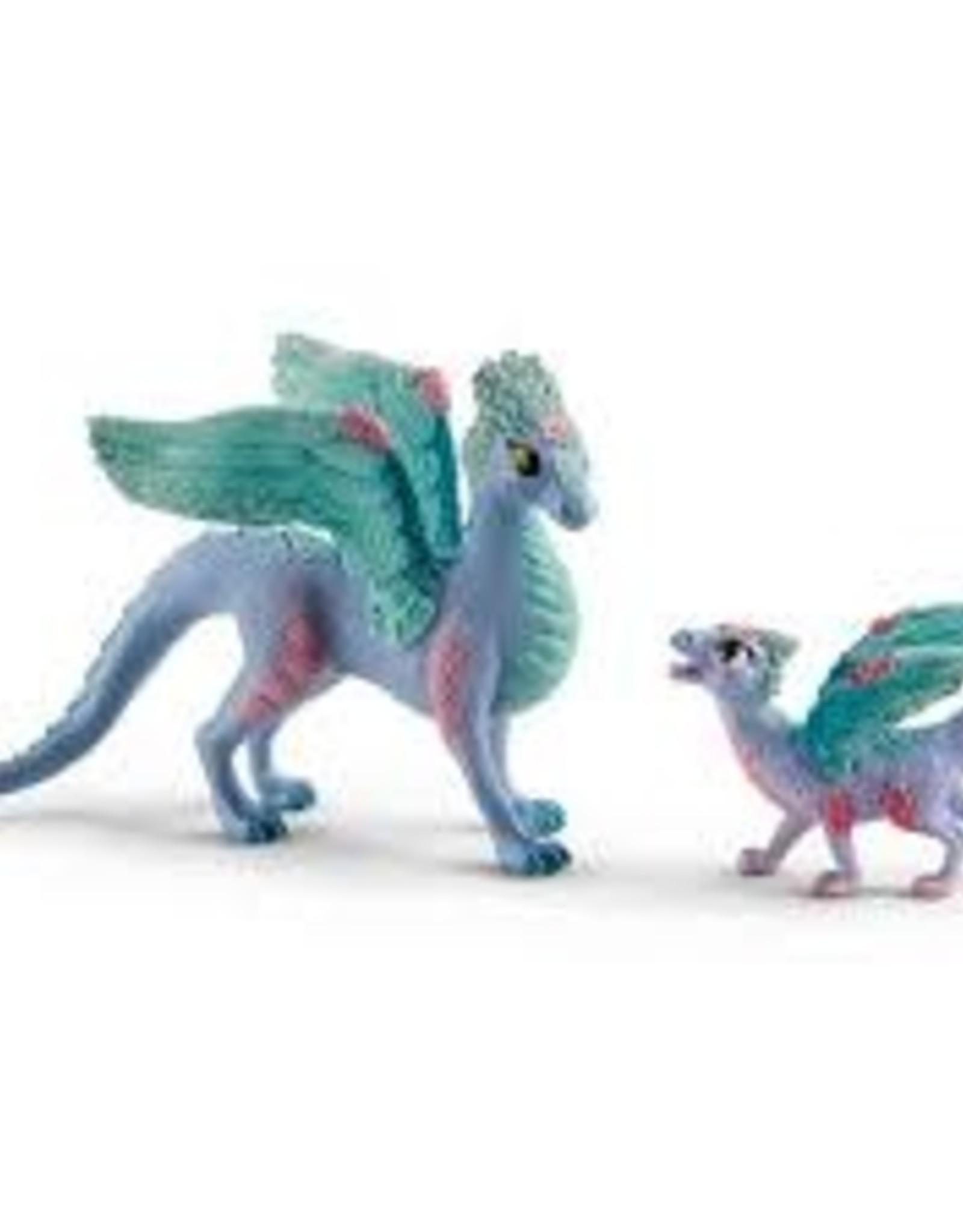 Schleich Schleich - Flower Dragon and Child
