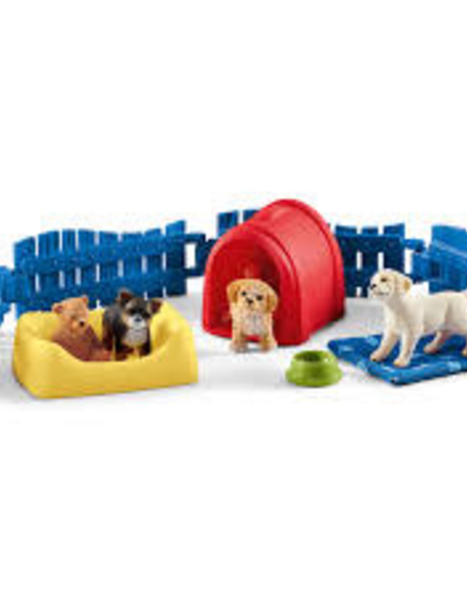 Schleich Schleich - Farm World Puppy Pen
