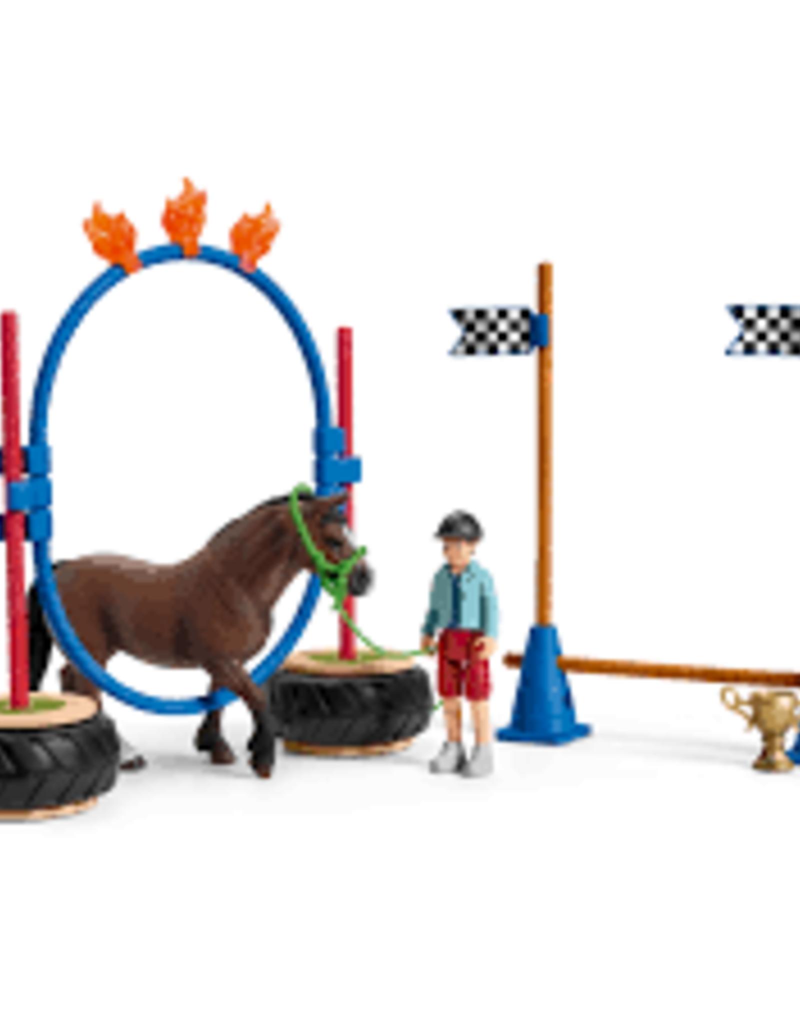 Schleich Schleich- Farm World Pony Agility Race