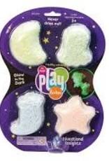 Playfoam Playfoam Glow in the Dark 4pk