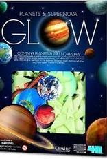 4M Glow Supernova w/ Planets 100pc