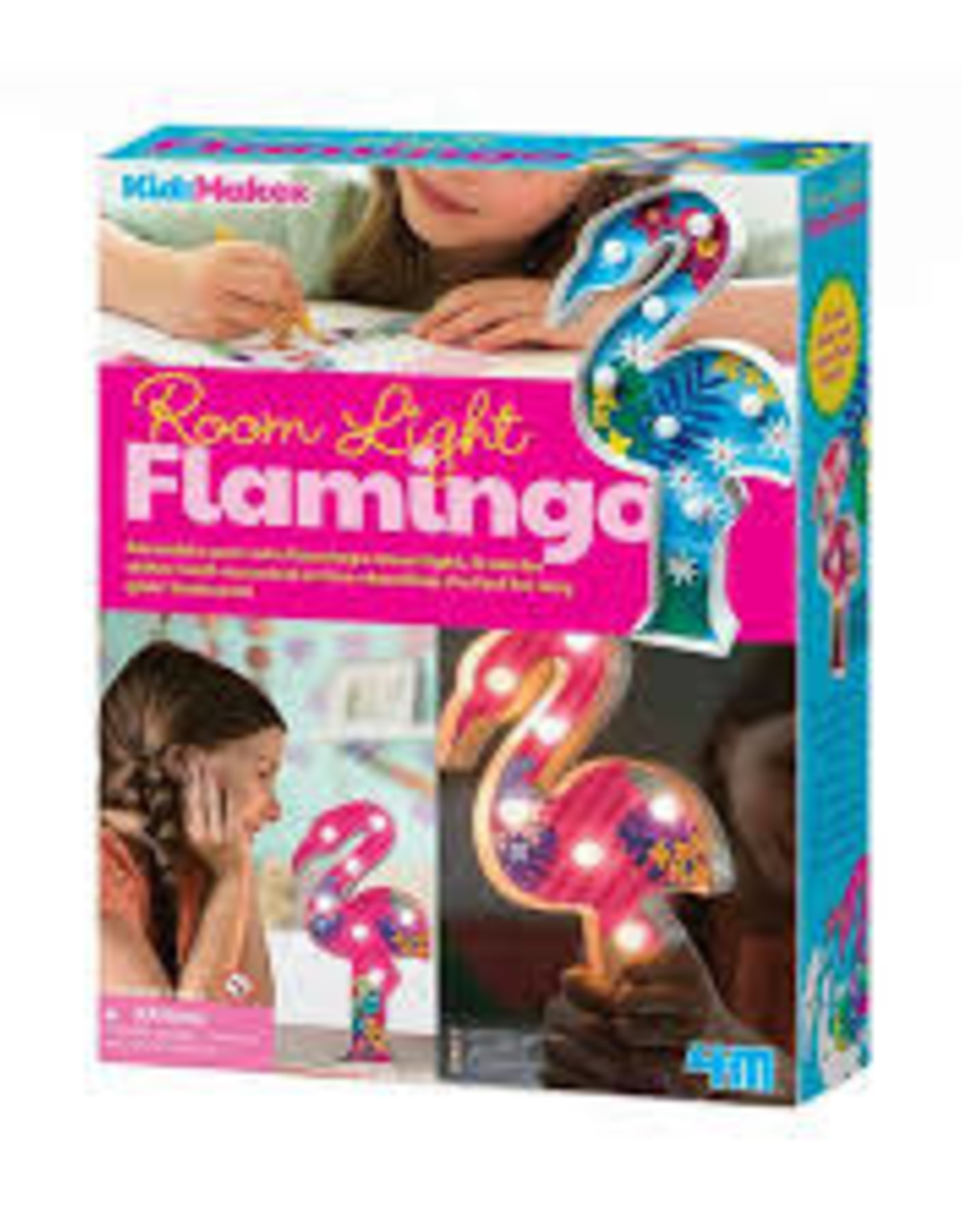 4M Flamingo Room Night Light
